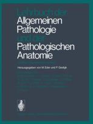 Lehrbuch der Allgemeinen Pathologie und der Pathologischen Anatomie