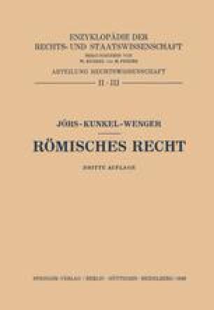 Römisches Recht