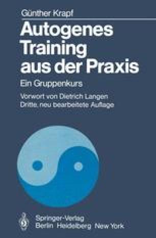 Autogenes Training aus der Praxis