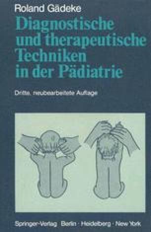 Diagnostische und therapeutische Techniken in der Pädiatrie