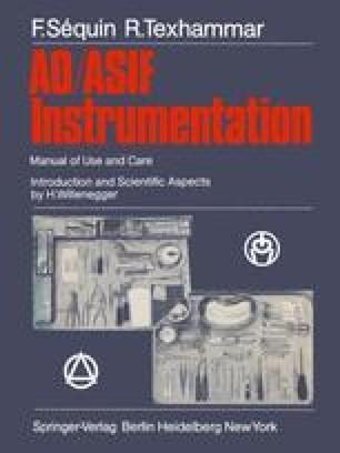 AO/ASIF Instrumentation