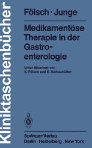 Medikamentöse Therapie in der Gastroenterologie