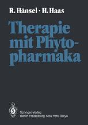 Therapie mit Phytopharmaka