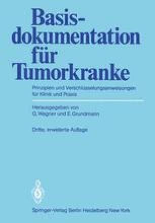 Basisdokumentation für Tumorkranke
