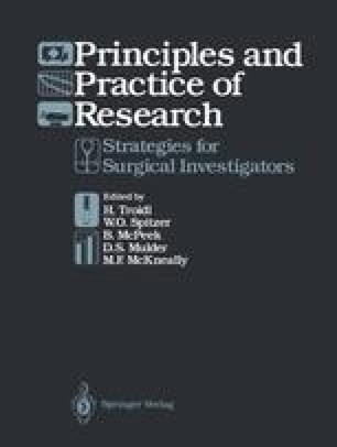 Principles and Practice of Research