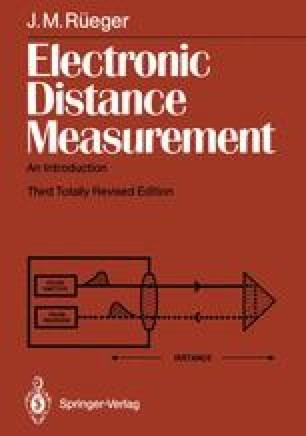 Electronic Distance Measurement
