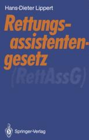 Rettungsassistentengesetz (RettAssG)