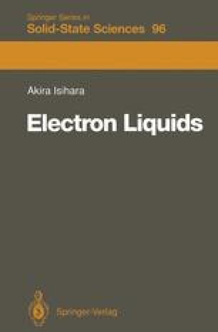 Electron Liquids