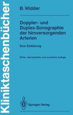 Doppler- und Duplex-Sonographie der hirnversorgenden Arterien