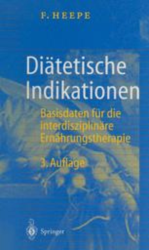 Diätetische Indikationen