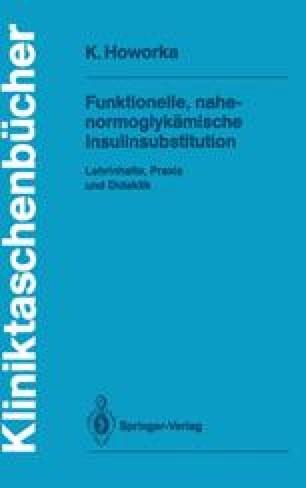 Funktionelle, nahe-normoglykämische Insulinsubstitution