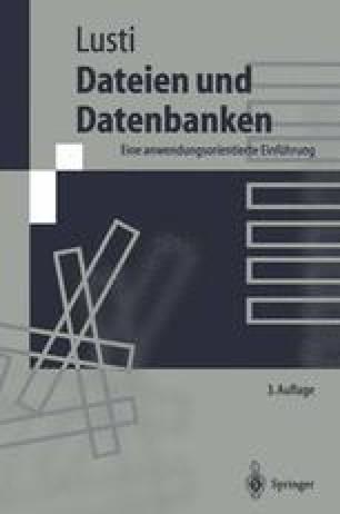 Dateien und Datenbanken
