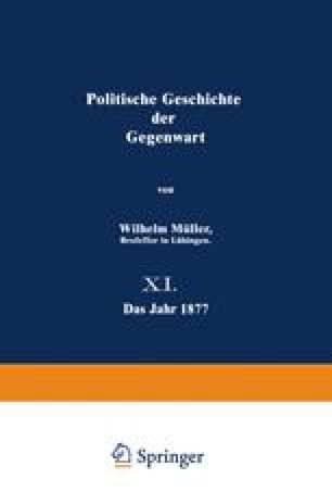 Politische Geschichte der Gegenwart