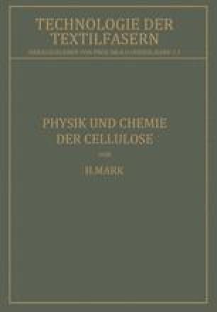 Physik und Chemie der Cellulose