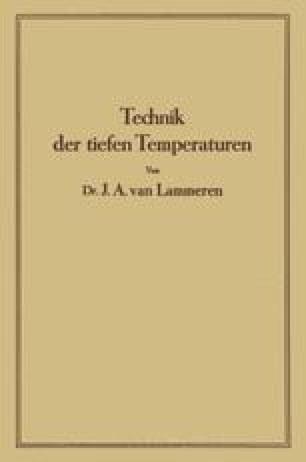 Technik der tiefen Temperaturen