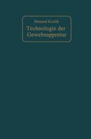 Technologie der Gewebeappretur