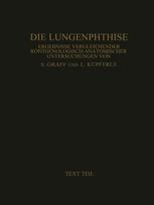 Die Lungenphthise