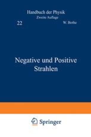 Negative und Positive Strahlen