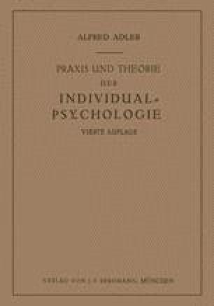 Praxis und Theorie der Individual-Psychologie