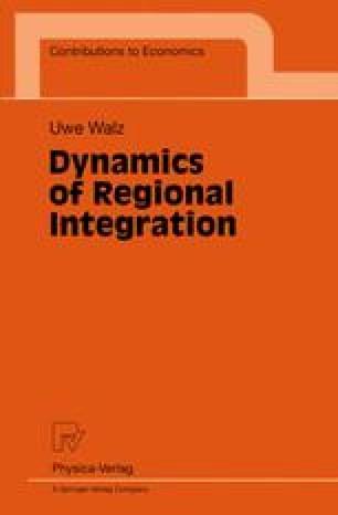 Dynamics of Regional Integration