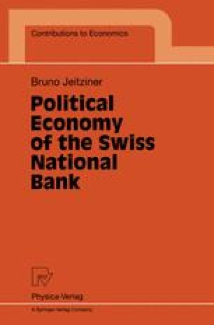 Political Economy of the Swiss National Bank