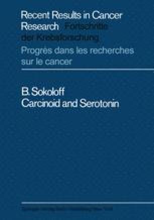 Carcinoid and Serotonin
