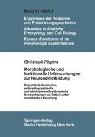 Morphologische und funktionelle Untersuchungen zur Neurosekretbildung
