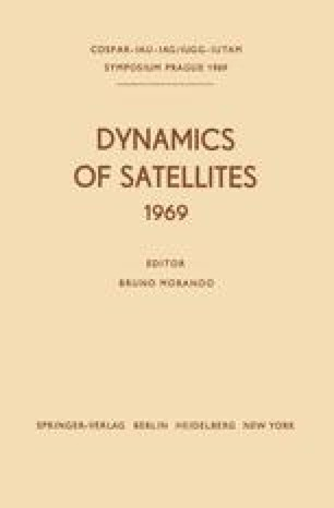 Dynamics of Satellites (1969)