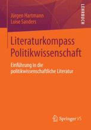 Literaturkompass Politikwissenschaft