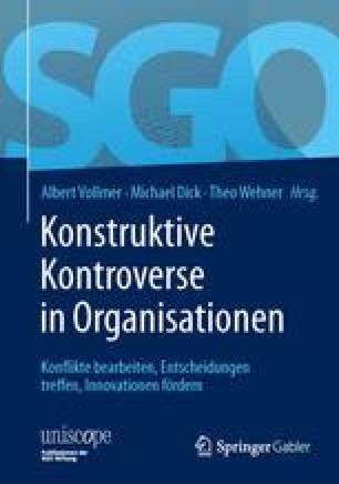 Konstruktive Kontroverse in Organisationen
