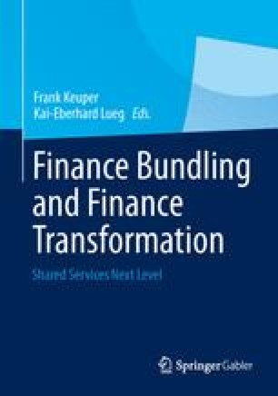 Finance Bundling and Finance Transformation | SpringerLink