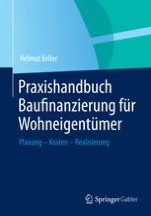 Praxishandbuch Baufinanzierung für Wohneigentümer