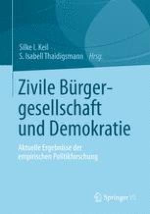 Zivile Bürgergesellschaft und Demokratie