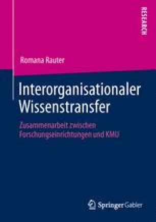 Interorganisationaler Wissenstransfer
