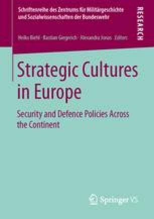Strategic Cultures in Europe