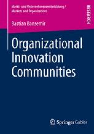 Organizational Innovation Communities
