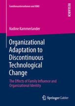 Organizational Adaptation to Discontinuous Technological Change