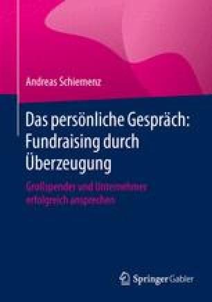 Das persönliche Gespräch: Fundraising durch Überzeugung