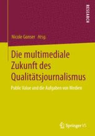 Die multimediale Zukunft des Qualitätsjournalismus