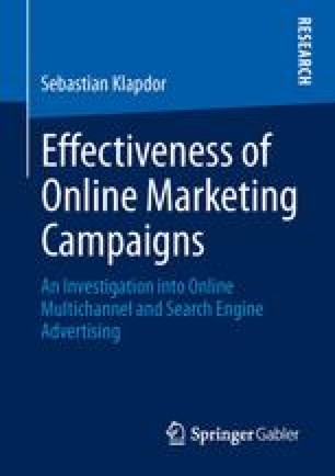 Effectiveness of Online Marketing Campaigns