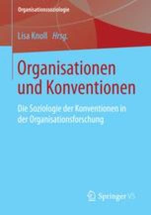 Organisationen und Konventionen