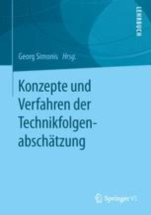 Konzepte und Verfahren der Technikfolgenabschätzung