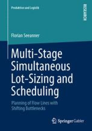 Multi-Stage Simultaneous Lot-Sizing and Scheduling