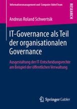 IT-Governance als Teil der organisationalen Governance