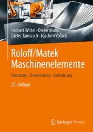Roloff/Matek Maschinenelemente