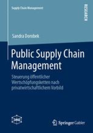 Public Supply Chain Management