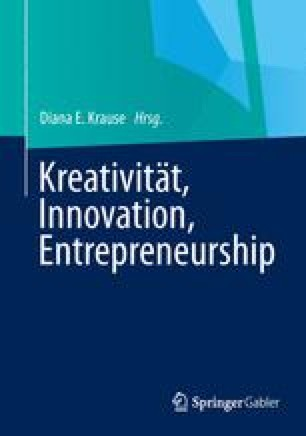 Kreativität, Innovation, Entrepreneurship