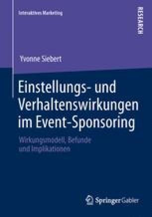 Einstellungs- und Verhaltenswirkungen im Event-Sponsoring
