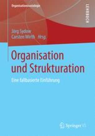 Organisation und Strukturation