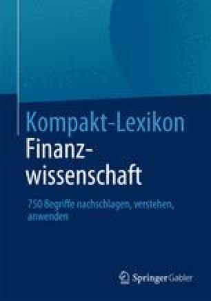 Kompakt-Lexikon Finanzwissenschaft